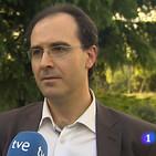 Entrevista a VEscudero en el Telediario de la 1 de RTVE