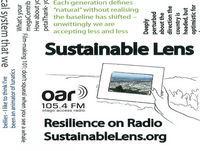 Sustainable Lens - Resilience On Radio - 21-09-2017 - Deirdre McIntyre