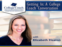 Getting In: A College Coach Conversation September 21, 2017